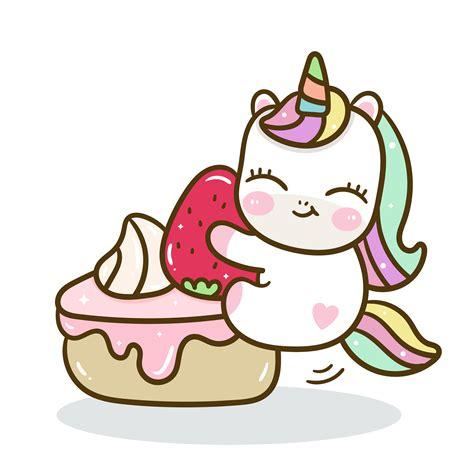Vector lindo unicornio con fondo dulce pastel   Descargar ...