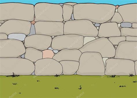 Vector: muro de piedras | muro de piedra — Vector de stock ...