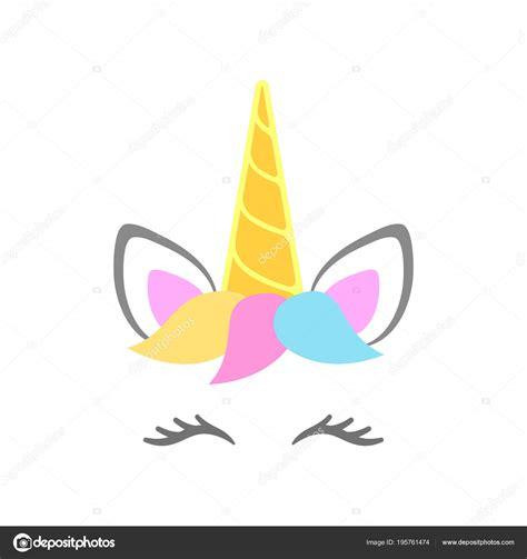 Vector: ojos de unicornio para imprimir | Cara Lindo ...