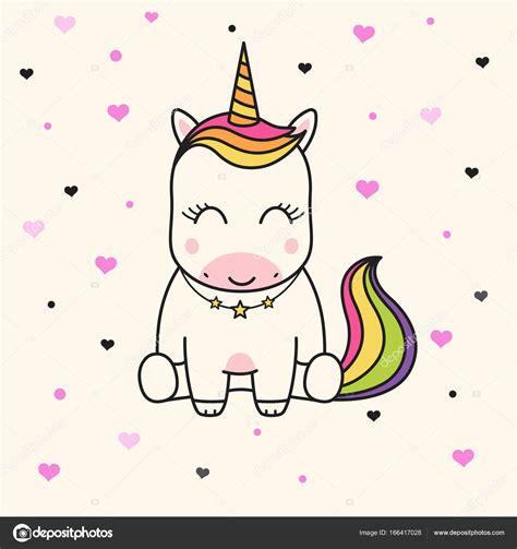 Vector: unicornios infantiles | Cara de lindo unicornio ...