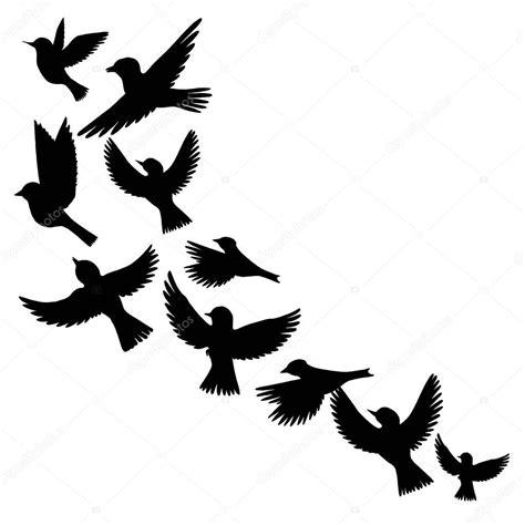 Vectores: silueta de pájaros | Vector siluetas de pájaros ...