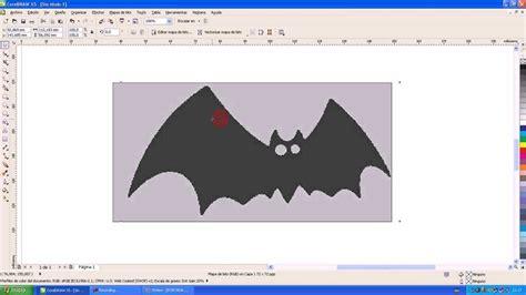 Vectorizar Imagen en Corel Draw desde una Imagen Plantilla ...