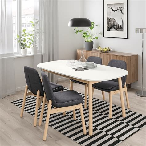 VEDBO white, Dining table   IKEA