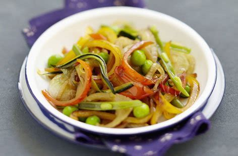 Vegetables cooked in a wok with soy sauce | Tesco Real Food