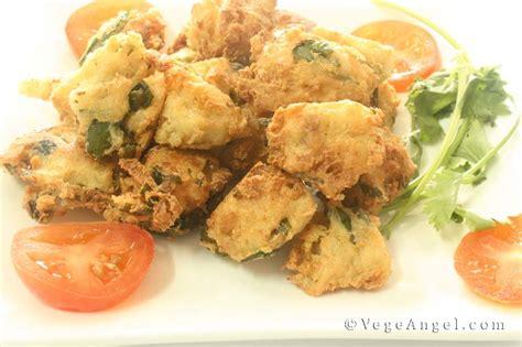 Vegetarian Recipe: Crispy Soya Nuggets with Celery Leaf ...