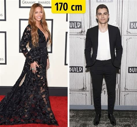 Veja a verdadeira altura de 40 famosos de Hollywood