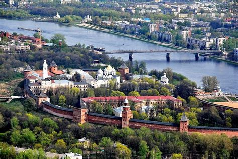 Veliky Novgorod, Russia. A city with an extremely sad ...