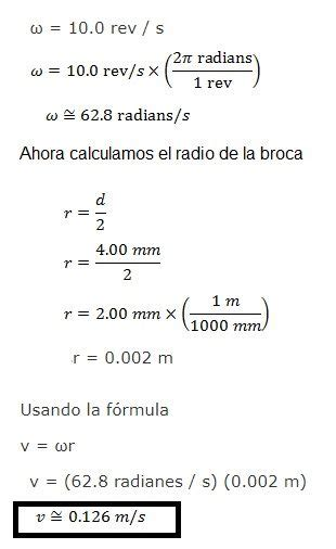 Velocidad Lineal Definición Fórmula y Ejercicios