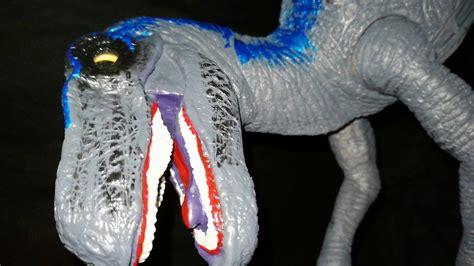 Velociraptor blue mexican Bootleg with sound raptor movie ...