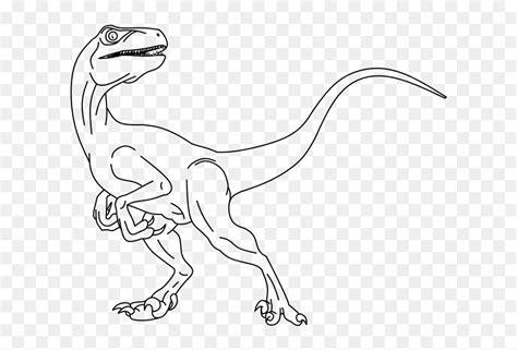 Velociraptor Blue Para Colorear, HD Png Download   vhv