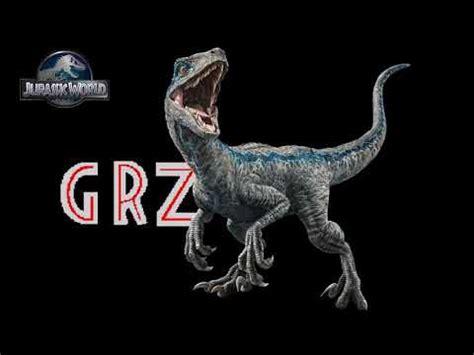 Velociraptor Blue Sound Effects   YouTube