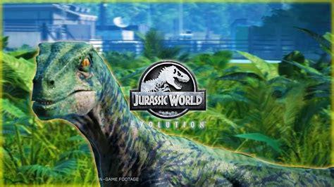 VELOCIRAPTOR ROAR & SOUNDS!!! In Jurassic World Evolution ...