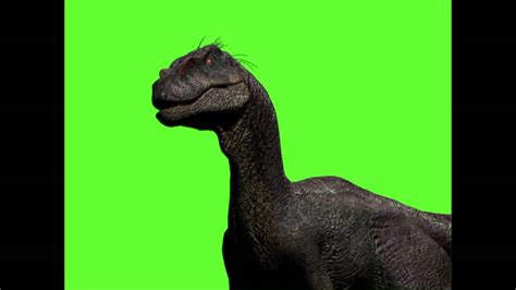 Velociraptor Sound Test for Nublar  2016  Green screen ...