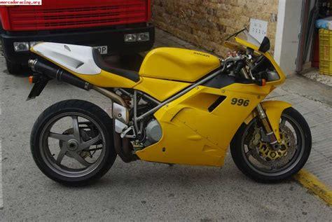Vendo Ducati 996 11.000 K M