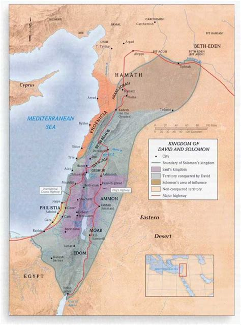 vendo todo: División del Reino de Israel.