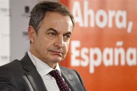 Venezuela: Zapatero:  Hay gobiernos que se arrepienten de ...