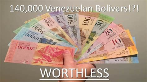 Venezuelan Hyperinflation: Worthless Currency and The ...