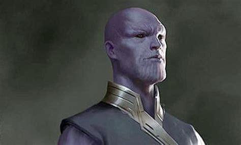 Vengadores   Diseño para las películas con Thanos joven y ...