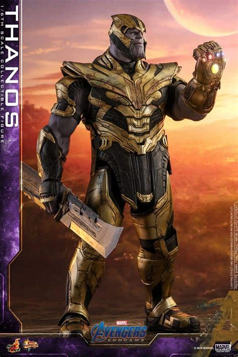 Vengadores: Endgame. La armadura de Thanos al detalle