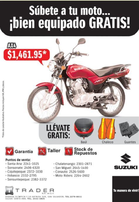 venta de motos el salvador   31ene14   Ofertas Ahora