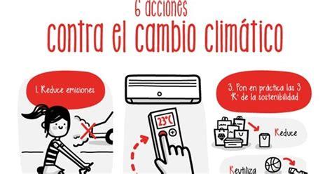 VENTE DE VERDE: Acciones contra el cambio climático