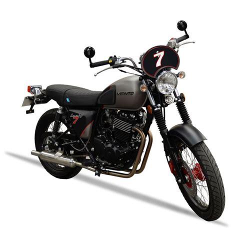 Vento presenta la nueva motocicleta Lucky7 400 Café Racer ...