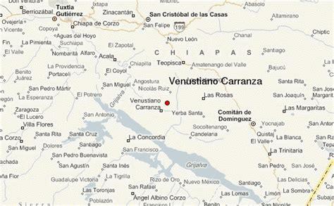 Venustiano Carranza, Mexico, Chiapas Location Guide