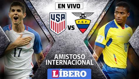 VER Ecuador vs Estados Unidos EN VIVO ONLINE EN DIRECTO ...
