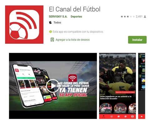Ver El Canal del Fútbol en YouTube: Ecuador vs. Uruguay en ...
