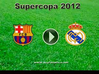 VER EN VIVO: SUPER COPA 2012   REAL MADRID VS BARCA EN ...