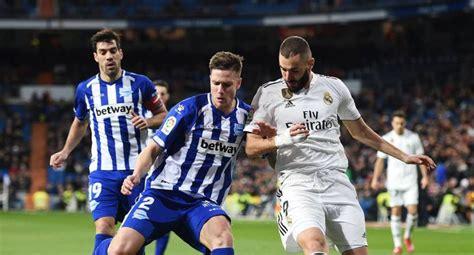 Ver ESPN EN VIVO partido Real Madrid vs Alaves EN VIVO y ...