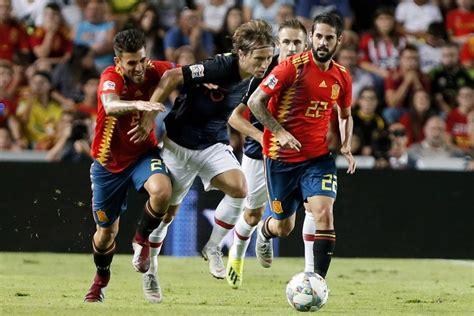 Ver Gratis Croacia vs España EN VIVO ONLINE UEFA Nations ...