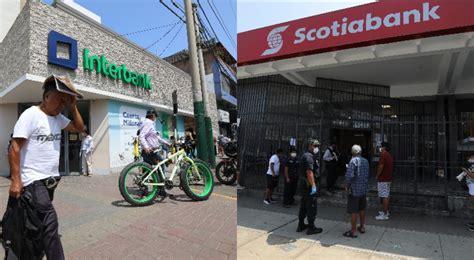 Ver horario de atención de bancos en Perú del 22 al 27 de ...