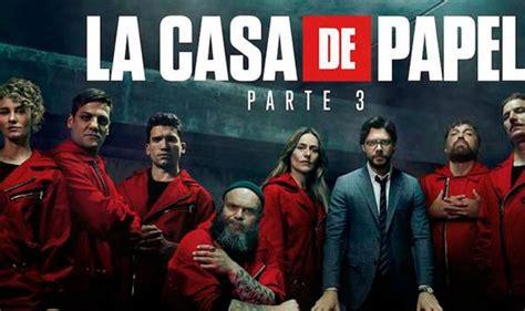 Ver La casa de Papel 3 tercera temporada vía Netflix ...