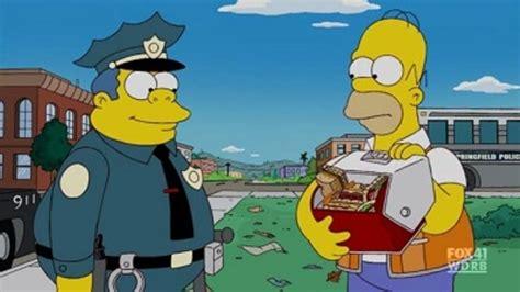 Ver Los Simpson: 21x18 Online   Jefe de corazones