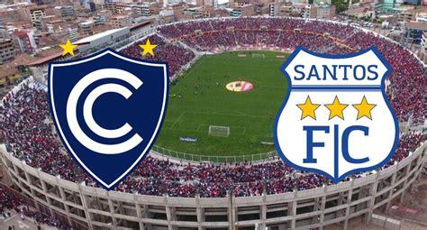 Ver, Movistar Deportes   Cienciano vs. Santos FC EN VIVO ...