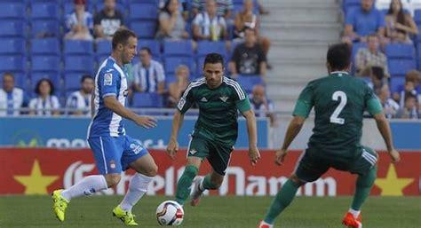 Ver online gratis Betis   Espanyol 30 octubre