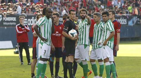 Ver partido en directo Osasuna   Betis online gratis