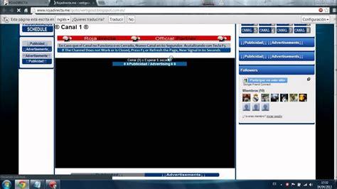 Ver partidos de fútbol en directo gratis   YouTube