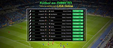 Ver partidos de futbol online   Ver futbol online en ...
