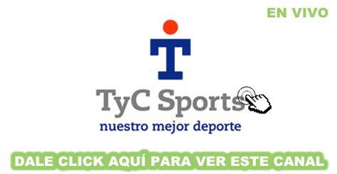 ver tyc sports en vivo online por internet   TeleCanales ...