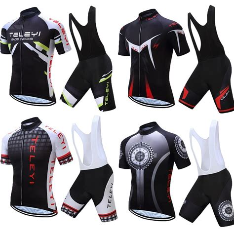 Verano ciclismo Jersey Kits de hombre 2019 carreras de ...