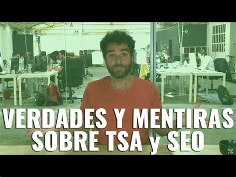 VERDADES Y MENTIRAS SOBRE TSA y SEO   #RomuTV Ep. 13   YouTube