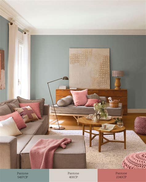 Verdigrís + greige + rosa en 2019 | Color en casa | Pintar ...