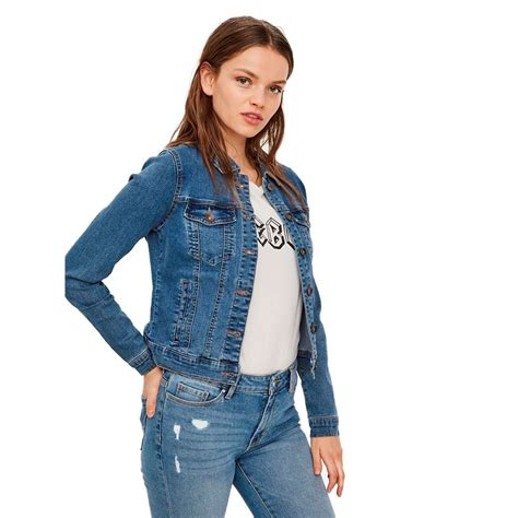 Vero moda Hot Soya L/S Blue buy and offers on Dressinn