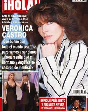 VERÓNICA CASTRO... 50 años de éxitos y fracasos.