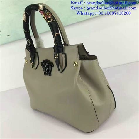 Versace Bags Leather Handbags lady bag for Women on Sale ...
