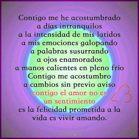 Versos y Poemas de Amor Cortos | Poemas de amor, Versos ...