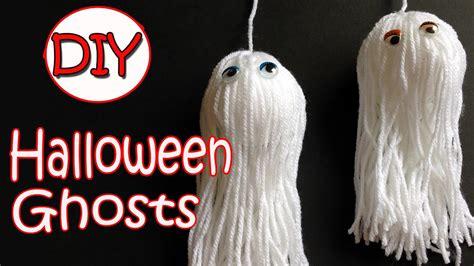 VERY EASY!! Halloween decorations   Ghosts   Ana   DIY ...