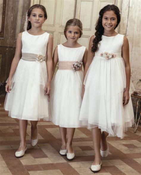 Vestido blanco nina comunion – Vestidos de dama de honor caros